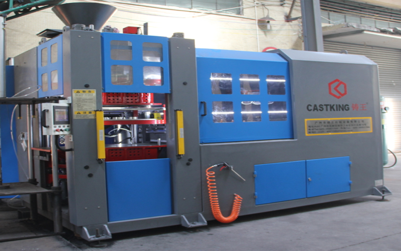 Automatic Molding Machine Put into Use,Production Capacity  Improved